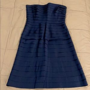 Gorgeous and classy blue tiered BCBG dress size 10